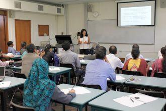 Fellows attending Dr Vijaya Nagarajan's Class