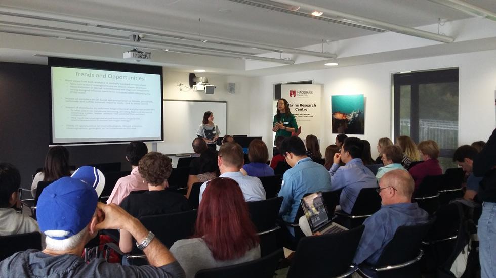 Stefan Loehr (EPS) presenting