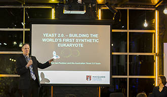 Ian Paulsen on Synthetic Biology and engineering yeast at the Powerhouse Museum Design Festival