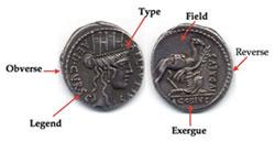 Describing an ancient coin
