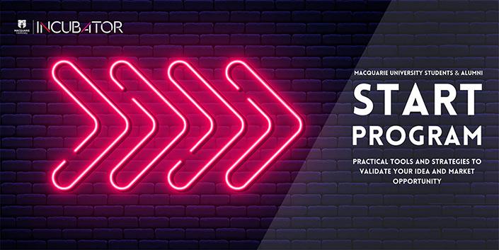 START program banner