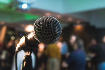 Microphone. Photo by Kane Reinholdtsen on Unsplash