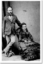 George North (Georgios Tramountanas) and his wife Lydia (nee Vosper)