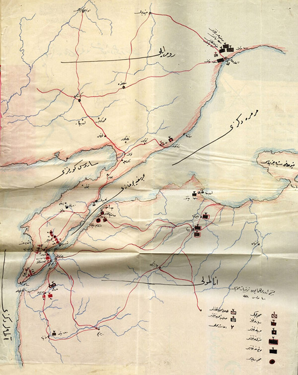 Map of Field Hospitals 28 May