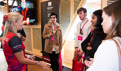 Discover Macquarie - book a campus tour