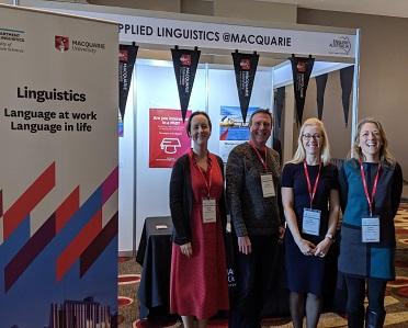 Macquarie at the English Australia conference