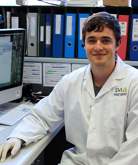 PACE student biology student Justin Galvin