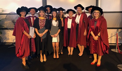 AIHI proudly represented at university graduation ceremony