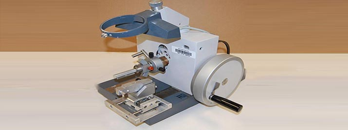 The Reichert Jung 1140/Autocut microtome