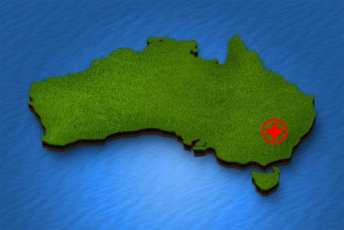 NSW map