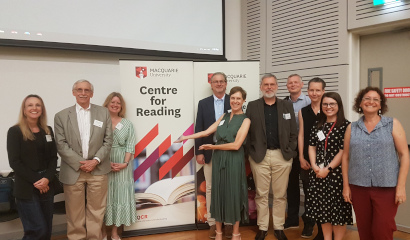 Official Launch of the Macquarie University Centre for Reading