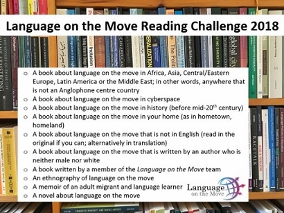 The Language on the Move Reading Challenge 2018