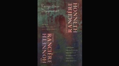 CAVE Book: Recognition or Disagreement (2016), Ed. Jean-Philippe Deranty and Katia Genel