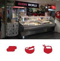 Sushi World - Ph: (02)9695 0888
