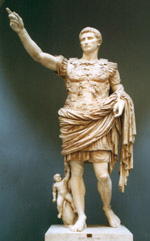 Augustus as military victor