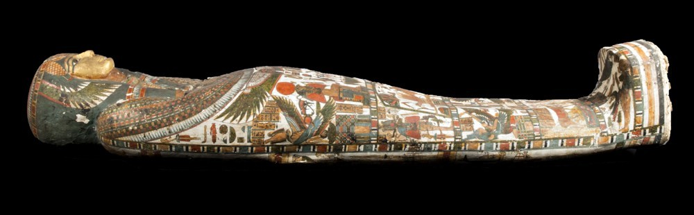 The Decorated Coffin of Panesy