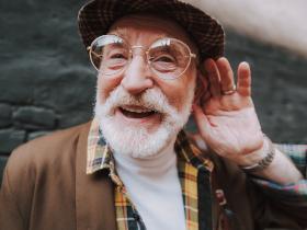 Deaf Older Man