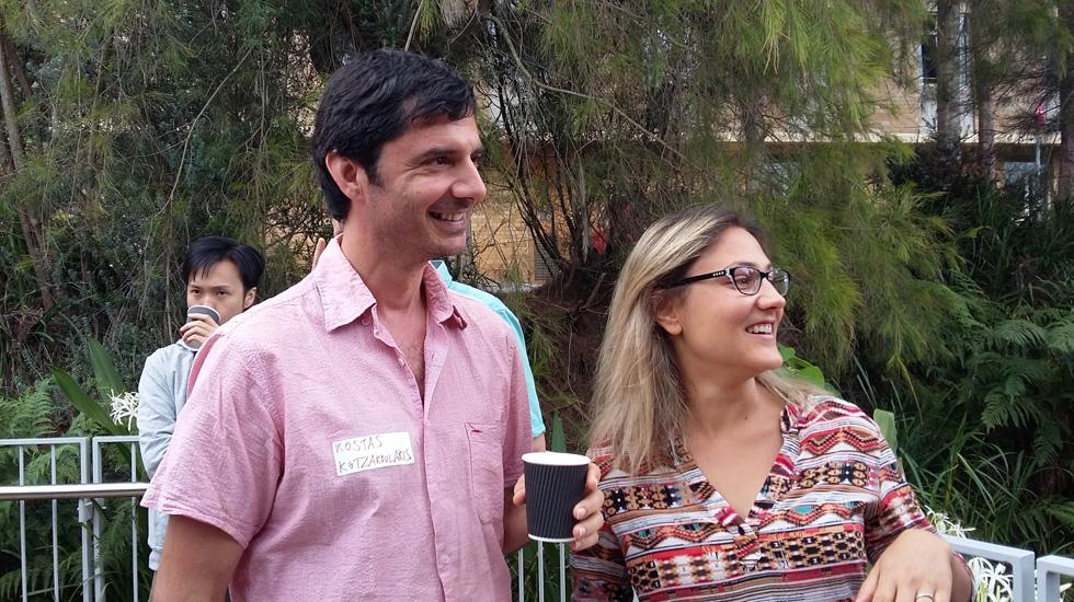 Kostas Kotzakoulakis (EPS), Sophia Bratenkov (EPS)