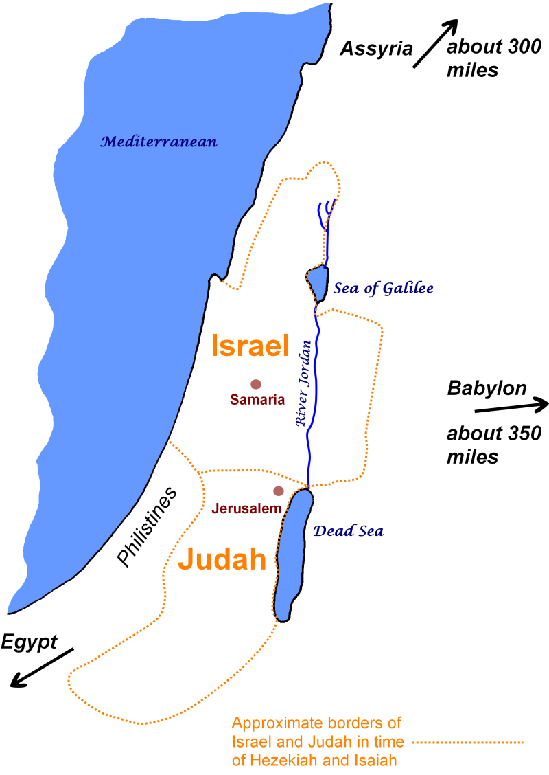 Introduction - Israel and Judah in their surroudings