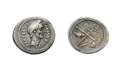 The coinage of Julius Caesar