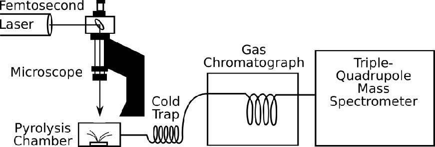 Macquarie University - Laser micropyrolysis gas