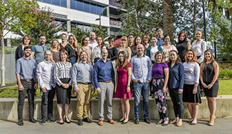 The Dementia Research Centre team. Image by Morris McLennan