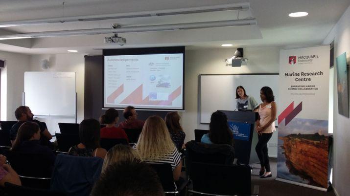 Deepa Varkey (CBMS) presenting