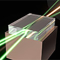 Ultra-high power diamond laser