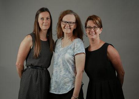 Drs Janet Long, Natalie Taylor and Deborah Debono
