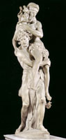 Aeneas carrying Anchises