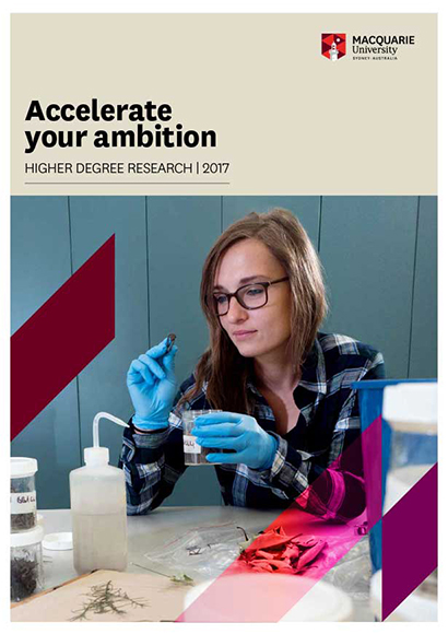 Higher degree research 2016