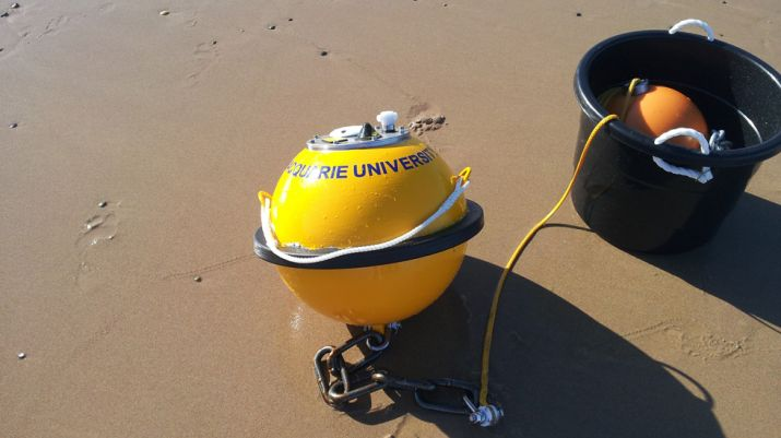 Buoy on beach