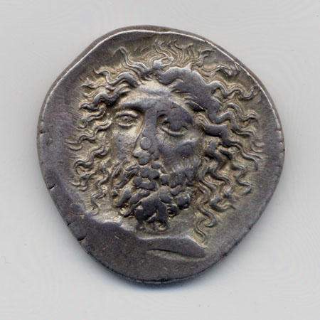 Coin of Pericles of Lycia, 4th c. BCE | 07A31 | © ACANS