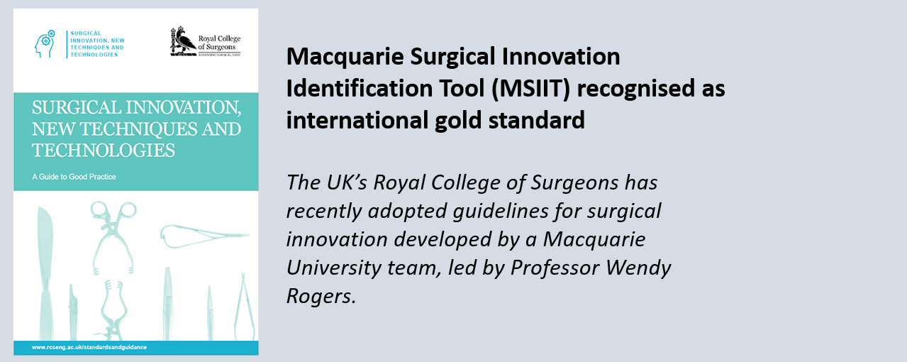 MSIIT recognised as international standard