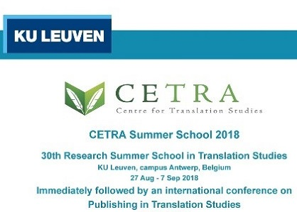 KU Leuven and Macquarie University partner to offer the 2018 CETRA Research Summer School