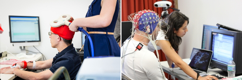 TMS and EEG Equipment