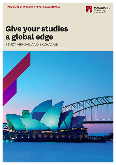 International Study Abroad brochure cover