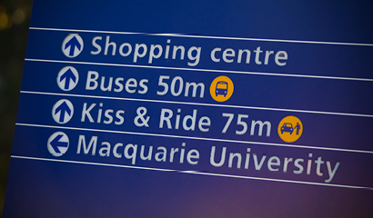 macquarie university airport pickup - directions - photography by FJ Gaylor