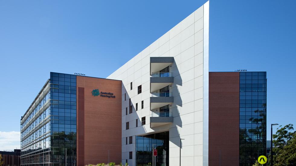 The Australian Hearing Hub Building