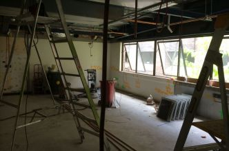 Our brand new lab at Macquarie University takes shape!