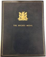The Hughes Medal and certificate