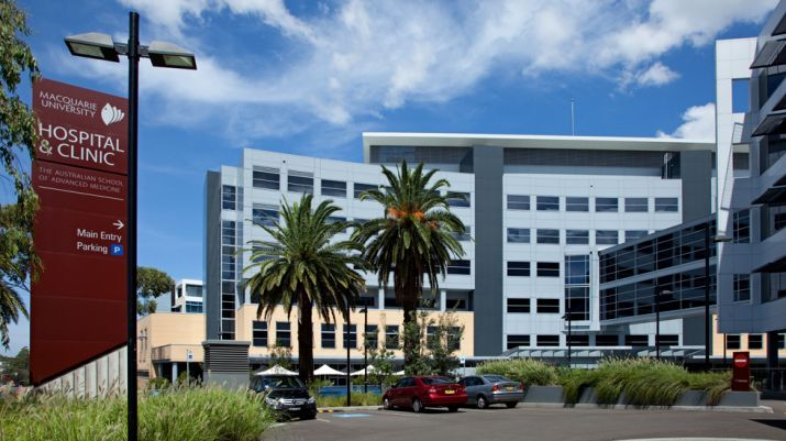Macquarie University Hospital and Clinic Buildings