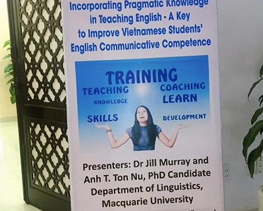 Successful workshop for Vietnamese teachers