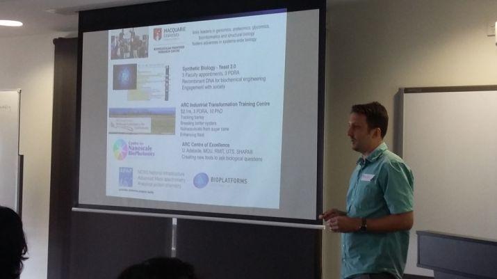 Deputy Director Martin Ostrowski presenting