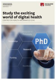 Study the exciting world of digital health