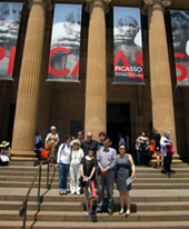 SPARC-Chinese media project - visit to NSW Art Gallery