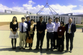 SPARC=Chinese media project - visit to Parliament