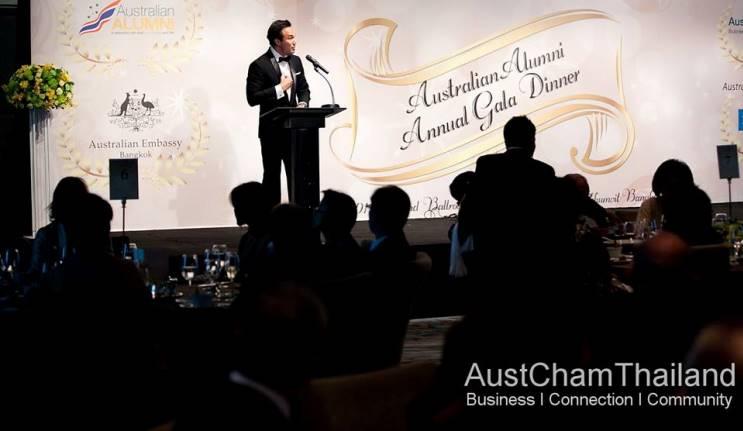 Alumni shine at Thai awards