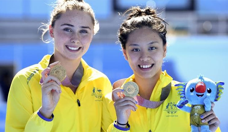 Winners are grinners: Macquarie's Sport Scholars bring home medals from the 2018 Gold Coast Commonwealth Games