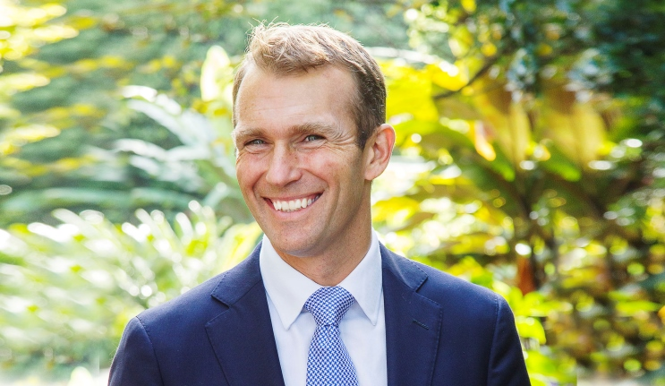 2018 Macquarie University Alumni Awards – The Hon Dr Rob Stokes MP